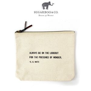 Sugarboo Designs Lookout Canvas Pouch